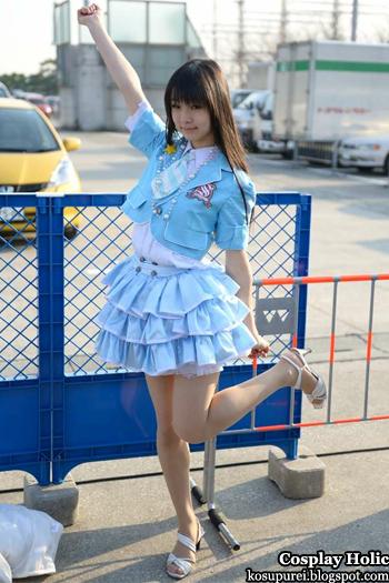 s/mileage cosplay - maeda yuuka from comiket 79