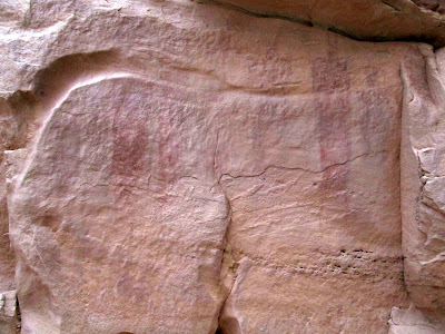 Iron Wash pictographs