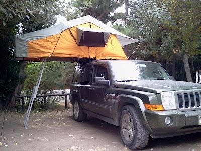 Carpas para techo roof tent pacampau aventura for Carpas 4x4 precios