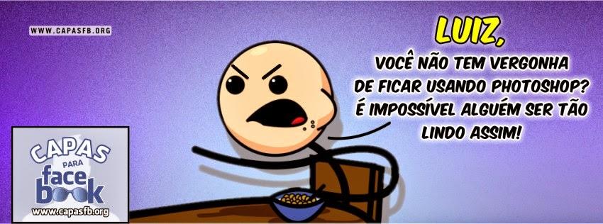 Capas para Facebook Luiz