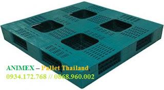 Pallet nhựa nhập khẩu cao 200mm