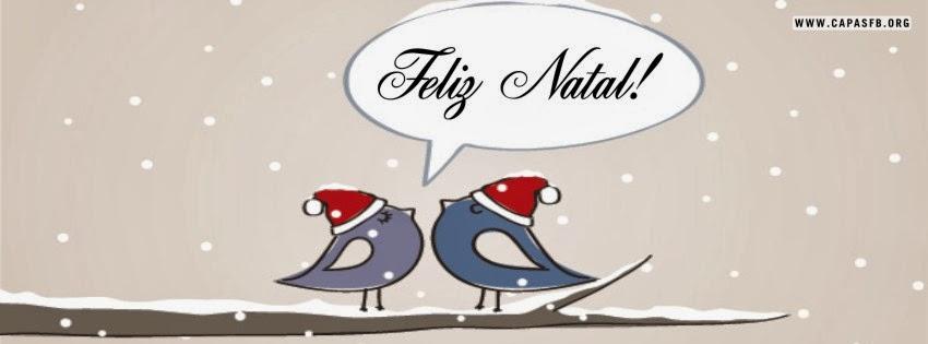 Capas para Facebook Feliz Natal