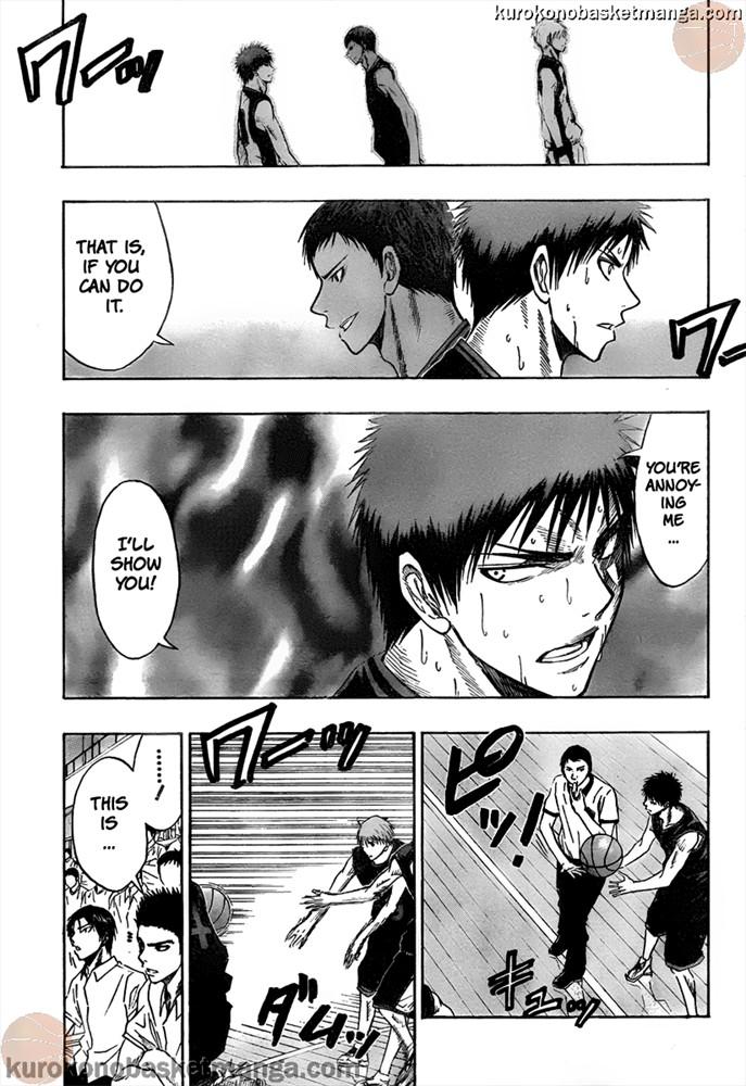 Kuroko no Basket Manga Chapter 46 - Image 07