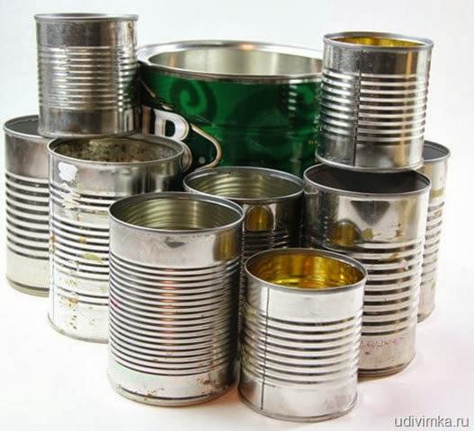 Separe as latas