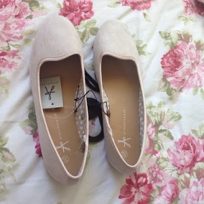 Flat dolly shoes from Primark