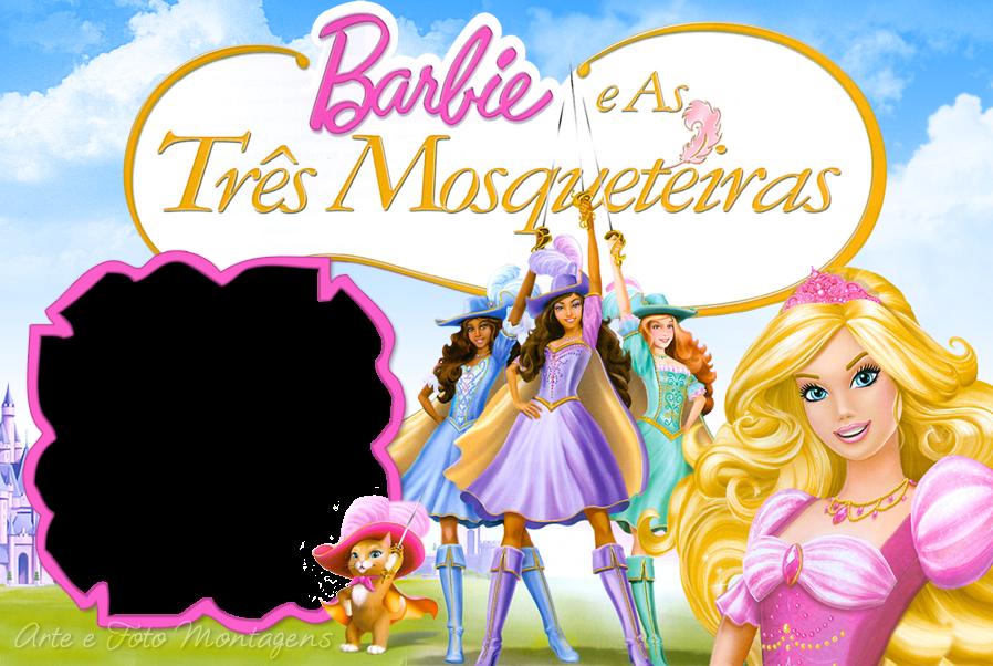 barbie-mosqueteiras