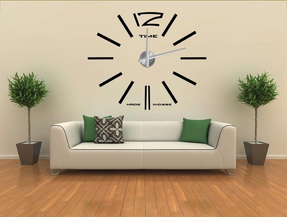 a28d6258e ساعات حائط عصرية ثري دي بارزة وكبيرة آشكال مختلفة - حلول البطالة ...