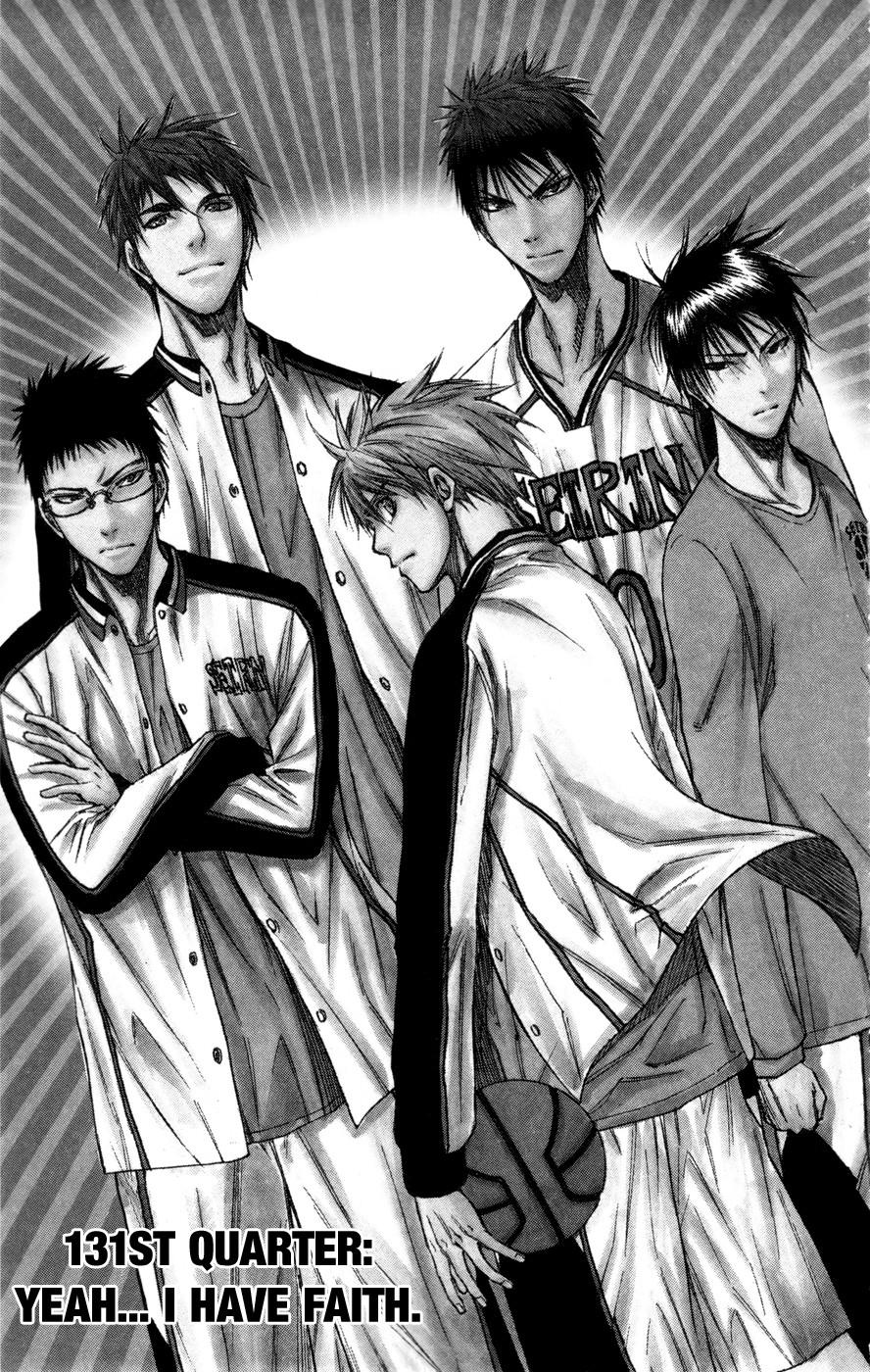 Kuroko no Basket Manga Chapter 131 - Image 01