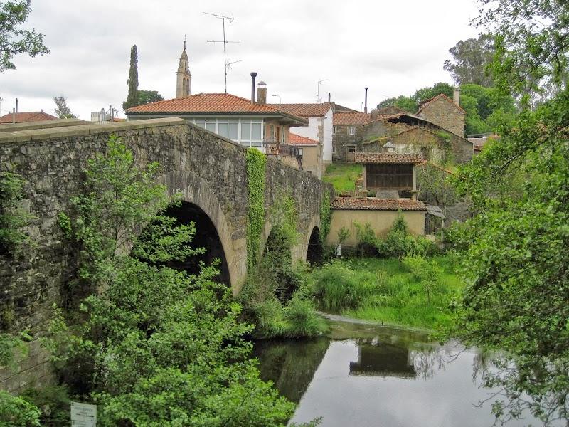 alte Römerbrücke vor Melide