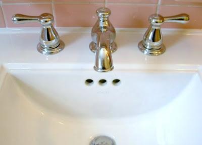 new bathroom faucet