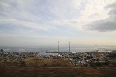 伊予鉄道「ハーバーライナー」 からの車窓 その3 淡路島