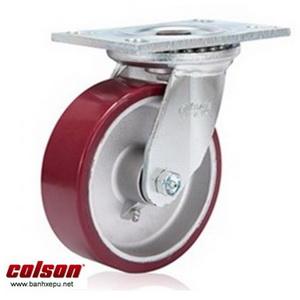 Bánh xe xoay công nghiệp PU Colson chịu lực 540kg 6 inch | 6-6209-939
