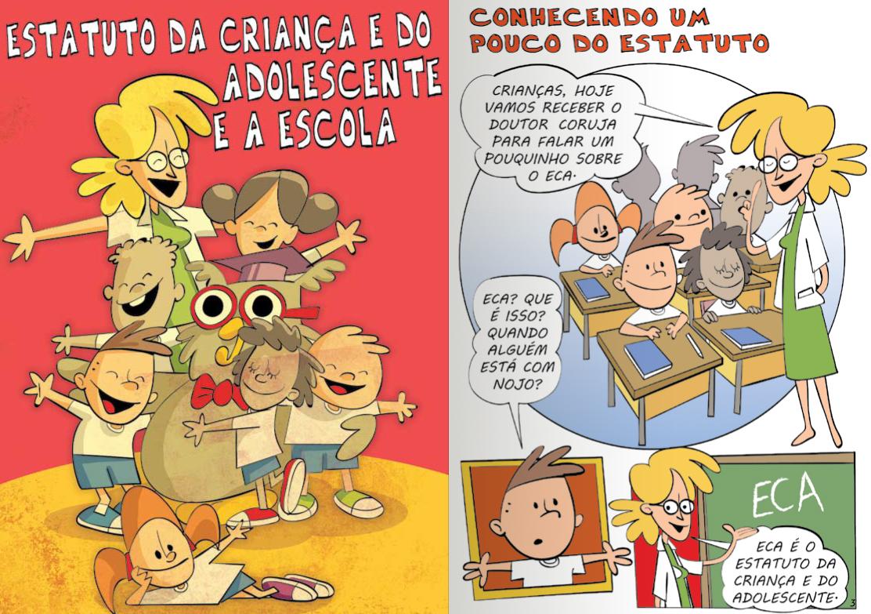 Top Laércio Castro: Cartilha - Direitos da Criança e do Adolescente OH15