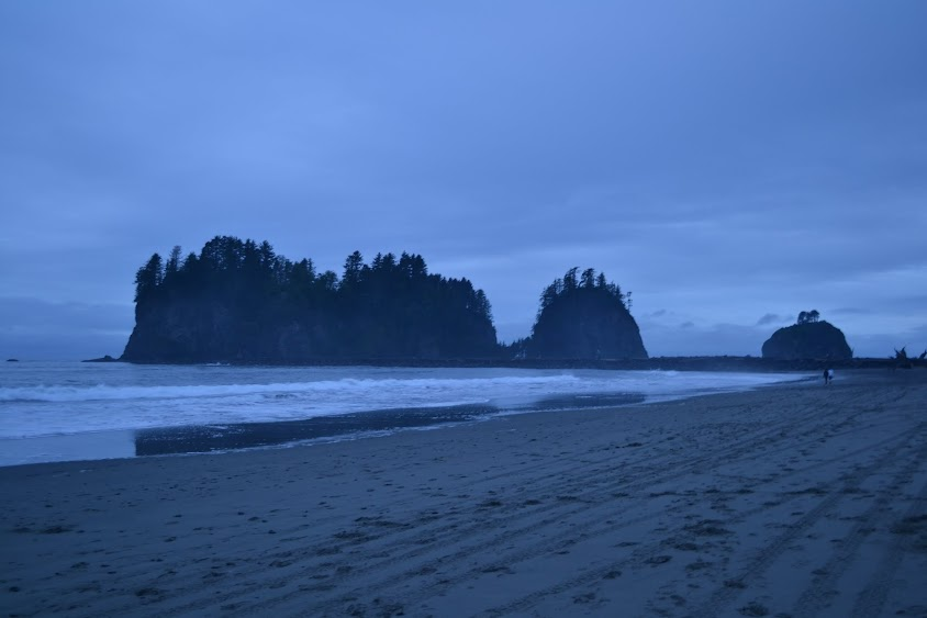 "пляж Ла Пуш из саги ""Сумерки"", штат Вашингтон (La Push from Twilight, WA)"
