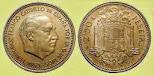 MONEDA DE FRANCO 1953 bonita moneda de