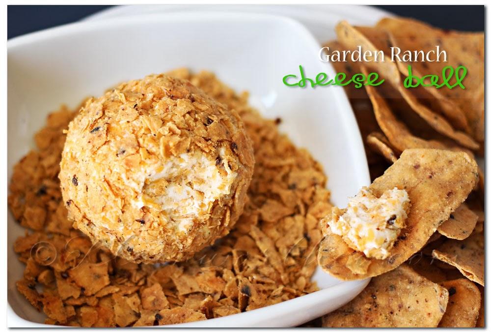 Garden Ranch Cheese Ball