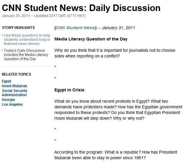 a discussion on the website of the cnn news Find the latest breaking news and information on the top stories, weather, business, entertainment, politics, and more for in-depth coverage, cnn provides special reports, video, audio, photo galleries, and interactive guides.