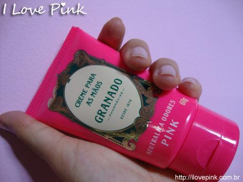 Creme para Mãos Linha Pink Granado