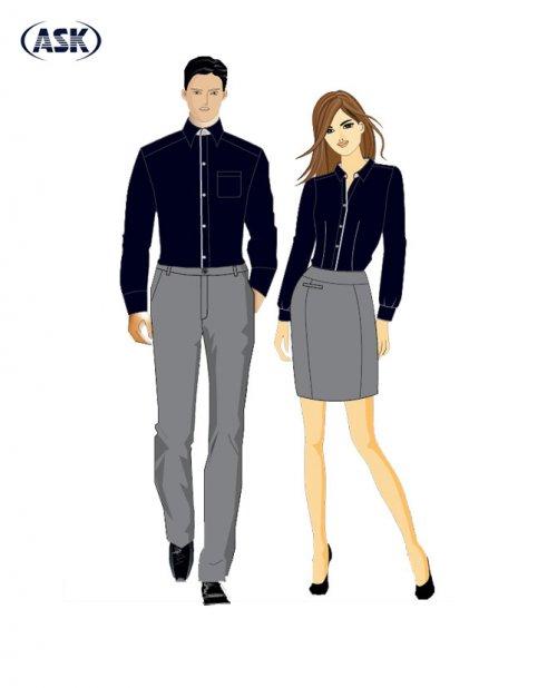 Trang phục Quản lý - Tiếp tân #4