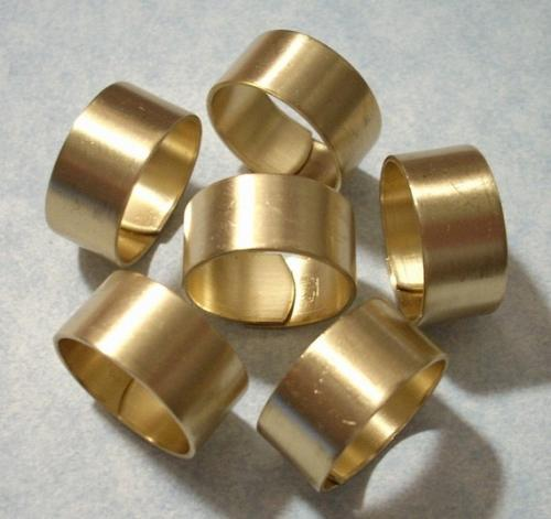 Smooth Band Wide Brass Rings [SOURCE]