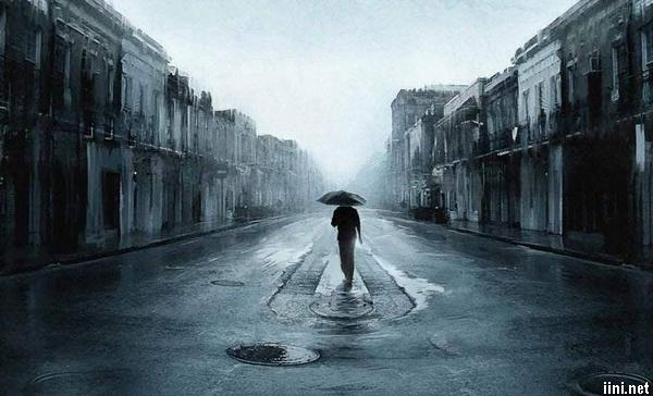 thơ cô đơn, cô độc của chàng trai