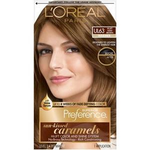 Kem nhuộm mượt tóc L'oreal Superior Preference màu UL63 hàng Mỹ xách tay