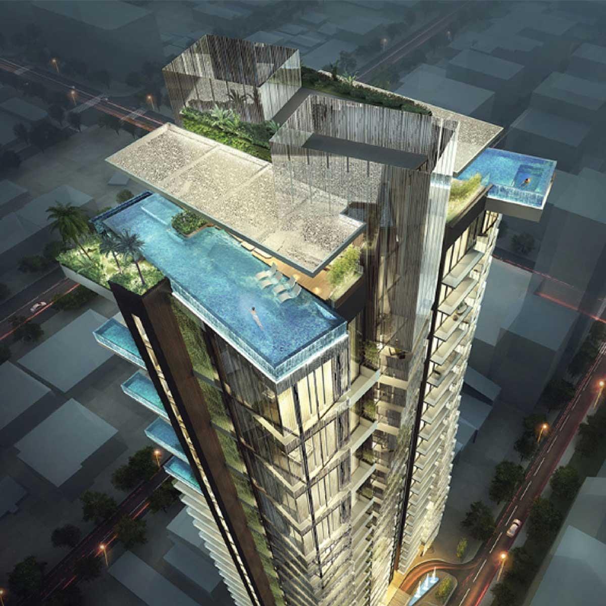 Những căn hộ có thiết kế đa dạng tại dự án bất động sản trứ danh này