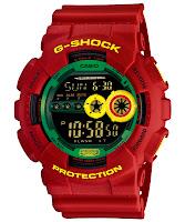 Casio G Shock : GD-100RF