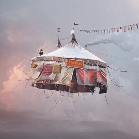 Laurent Chehere Flying Tent
