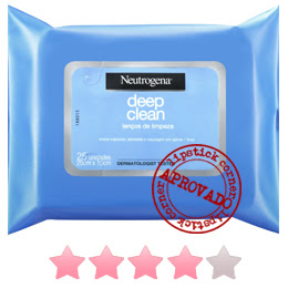 Neutrogena Deep Clean Lenços Demaquilantes
