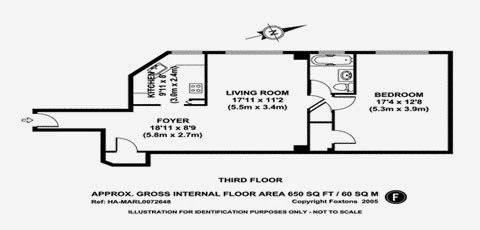 parkchester apartment and condominium one bedroom floor plan