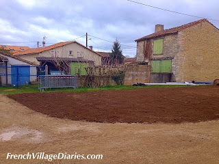 French Village Diaries recycling a road France village life
