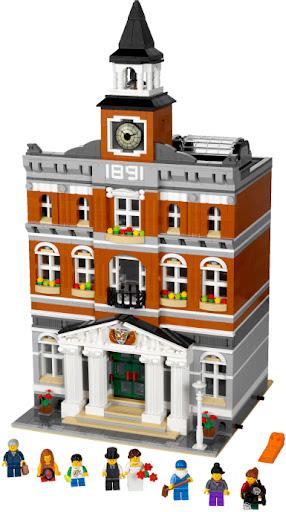 10224 レゴ タウンホール(クリエイター)