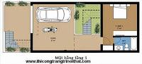 Tư vấn thiết kế nhà phố 6×16 kiến trúc 3 tầng - THI CÔNG TRANG TRÍ NỘI THẤT