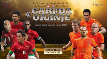 Timnas Indonesia vs Belanda