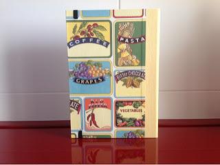 Libro de cocina cartonnage