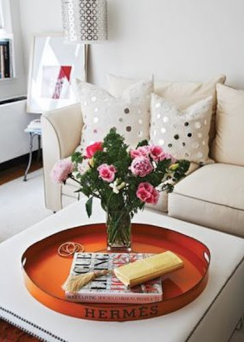Interior Design Home decor coffee table decor floral arrangements