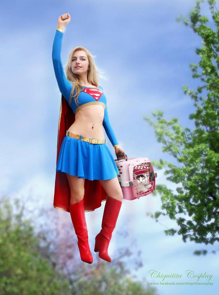 Thêm một bộ ảnh cosplay về nữ siêu nhân