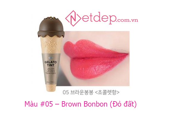 Son The Face Shop Gelato Tint Brown Bonbon