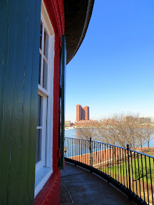 Seven Foot Knoll Lighthouse Inner Harbor Baltimore Maryland