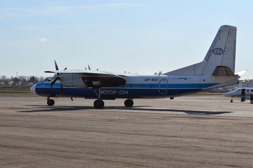 Ан-24РВ UR-BXC