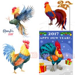 vector con gà 2017 314