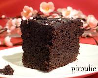 Le gâteau au chocolat nappé - recette indexée dans la rubtique Desserts