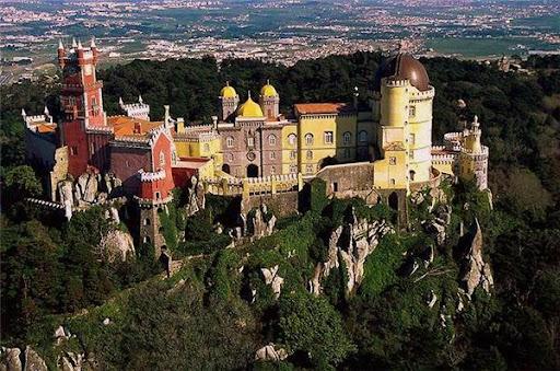 Синтра Дворец Пена Португалия