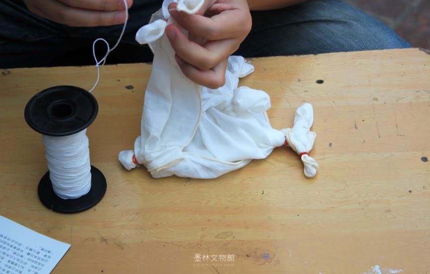 台南墨林文物館,藍染熊手作坊-3