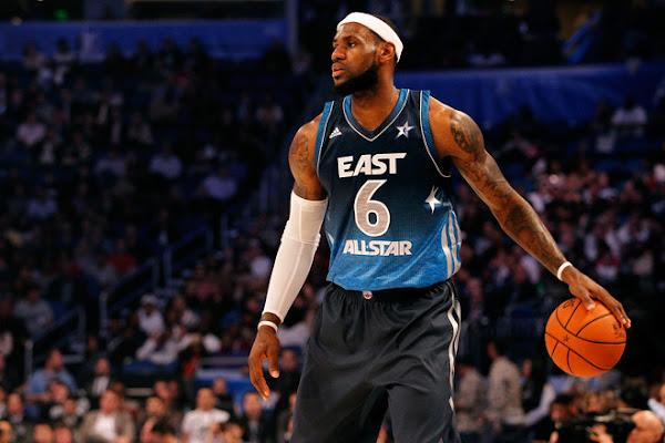 LeBron James Shines in 2012 NBA AllStar Game in Orange Kicks
