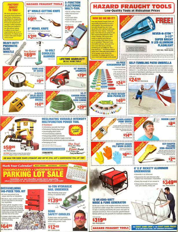 Coupons for 18 free items at harbor freight tools honda tech
