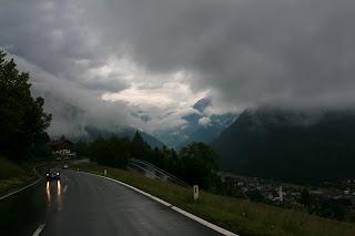 Kiša, ali i lijepa igra oblaka