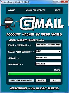 lay lai password Hotmail buoc 2 Phần mềm khôi phục mật khẩu Hotmail