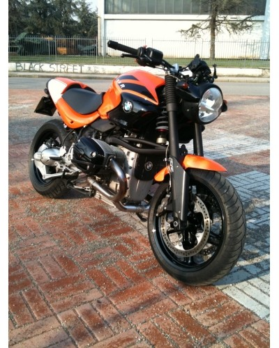Cafe Racer Special: BMW R1150R Special Orange By M.A.C.E
